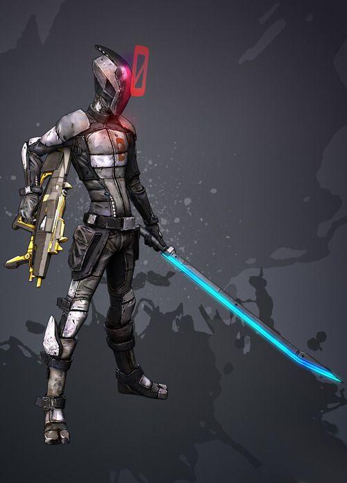 Borderlands 2: Zero the assassin