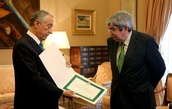 """""""Saudade"""" e """"grande alegria"""" de Marcelo ao receber o diploma de deputado honorário"""