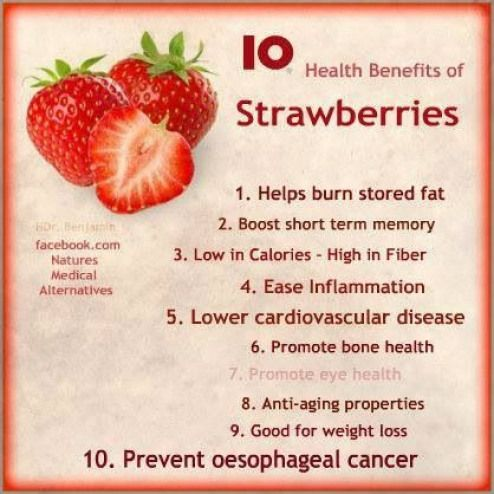 Why are strawberries not good for weight loss