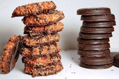 thin mint recipe (as in girl scout cookies...OMG)