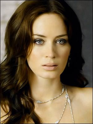 "Emily Blunt. I LOVE LOVE LOVE HER.  watched ""Young Victoria"" and  devil wears prada I'm inlove again!"