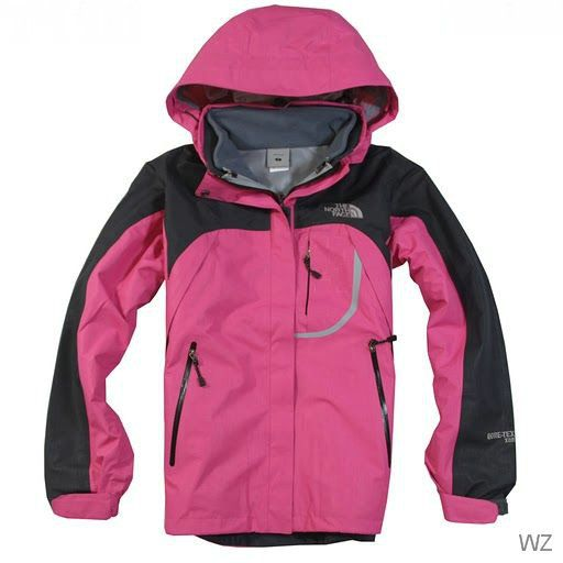 Cheap Womens North Face Sale WaterProof Jacket Pink uk http://www ...