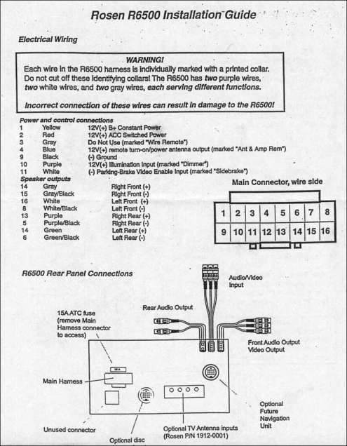 Chrysler Crossfire Stereo Wiring Diagram