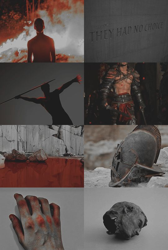 """Ares 1/2:  """"you bleed so much everything tastes like blood to you, the world never tasted of something else"""""""