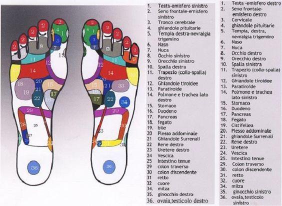 Massaggio ai piedi: riflessologia plantare