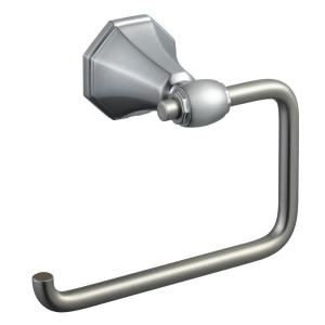 Pegasus Sentio Toilet Paper Holder in Brushed Nickel-20062-2004 at The Home Depot