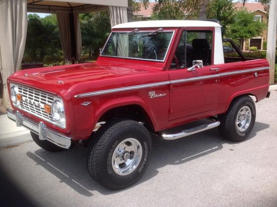 1969 Ford Bronco Half Cab Maintenance/restoration of old/vintage vehicles: the material for new cogs/casters/gears/pads could be cast polyamide which I (Cast polyamide) can produce. My contact: tatjana.alic@windowslive.com