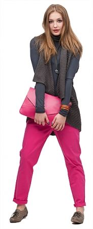 I just <3 the pink bag! (outfit by 24colours)
