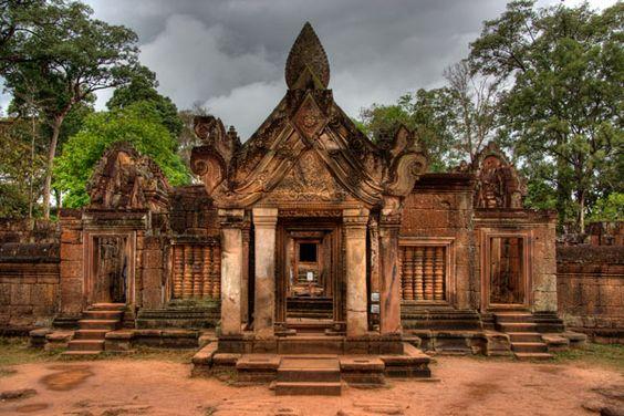 Góc nhìn khác về ngôi đền