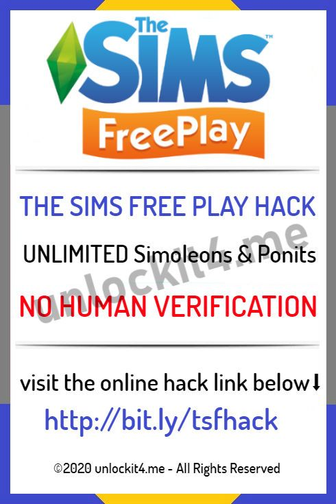 How To Get A Lot Of Money On Sims Freeplay : money, freeplay, HACK], Freeplay, Unlimited, Simoleons, Points, Human, Verification, Play,, Cheats,, Hacks