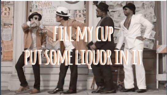 "Bruno Mars ""Uptown Funk"""