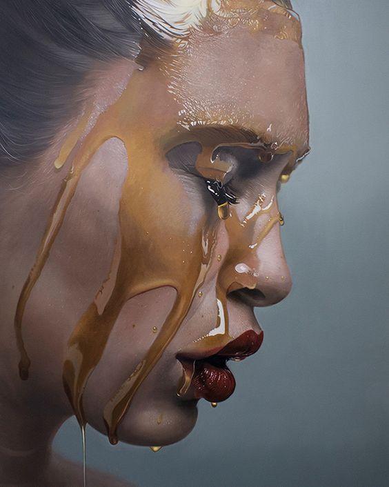Mike Dargas german artist canvas