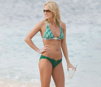 Carrie Underwood: I'm 95% Vegan