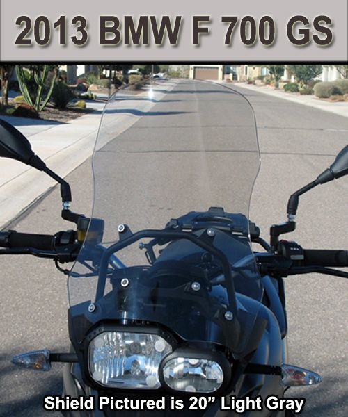 cee baileys bmw f 700 gs 2013 windshield motorcycle. Black Bedroom Furniture Sets. Home Design Ideas