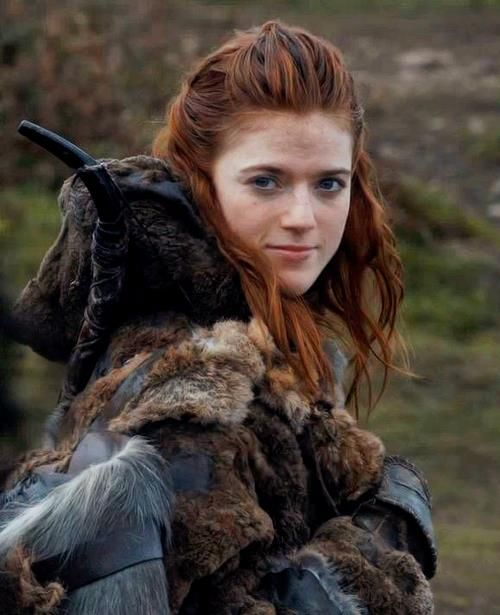 Ygritte just the coolest!