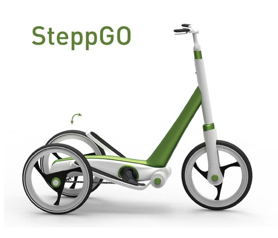 SteppGo – Human Powered Personal Transportation to Move Around the City