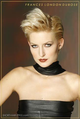 Fine Short Quiff Quiff Hairstyles And 80S Hair On Pinterest Hairstyles For Women Draintrainus
