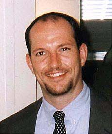 """Mark Bingham's passion was rugby. On September 11, 2001. A passenger that day on United Airlines Flight 93, bound from Newark for San Francisco, Bingham is believed to be among those who wrested control of the plane from terrorist hijackers and caused it to crash in rural Pennsylvania instead of its intended target of the White House or U.S. Capitol, sacrificing his life in the process. The Bingham Cup tournament, """"the World Cup of gay rugby,"""" is named for him."""