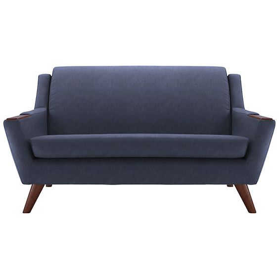 Buy G Plan Vintage The Fifty Five Small Sofa, Festival Ink Online at johnlewis.com