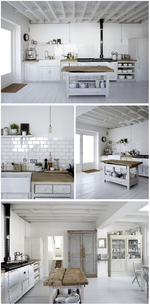 White back splash! Beautiful White, London Victorian Terrace House owned by Photographer, Paul Massey