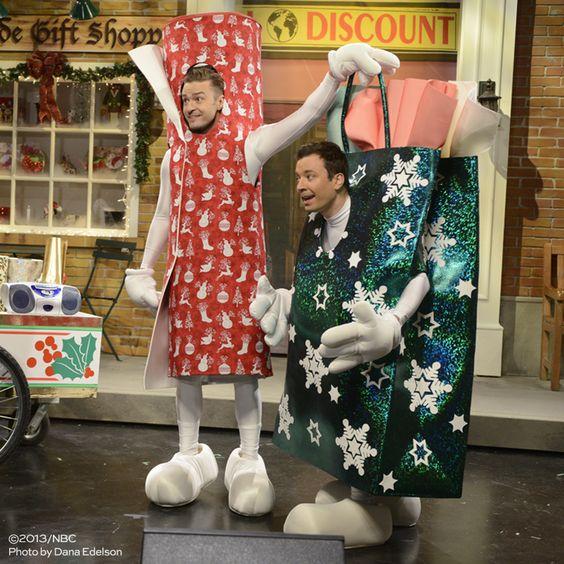 Saturday Night Live Jimmy Fallon and Justin Timberlake Christmas