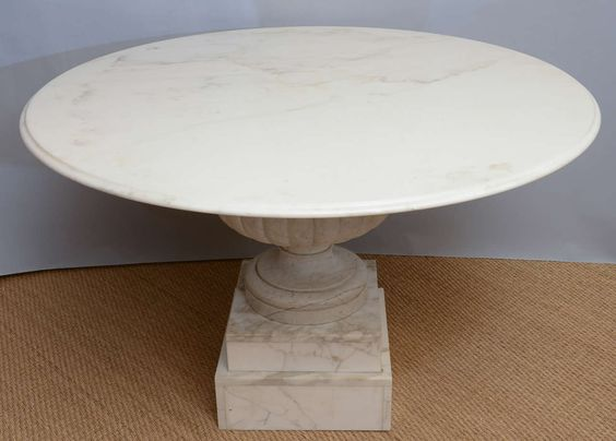 Roman Inspired Outdoor Table By A Monopodium