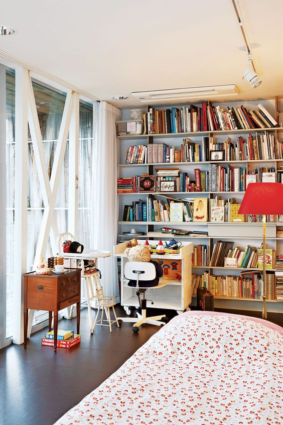 Blans-Knol-Spare-Bedroom   The cozy spare room filled with heirlooms is largely used by the couple's three young grandchildre