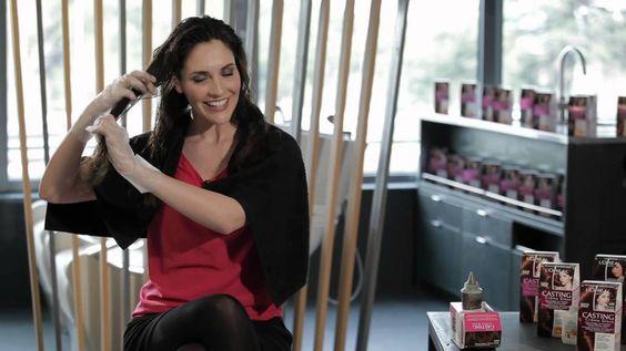 Descubre cómo Teñirte el Pelo con Casting Creme Gloss de L'Oréal Paris.