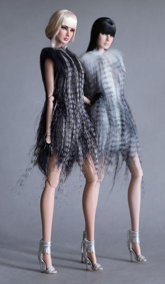 https://flic.kr/p/Bg4fTN | Fashion Royalty / Invincibility Agnes & Giselle