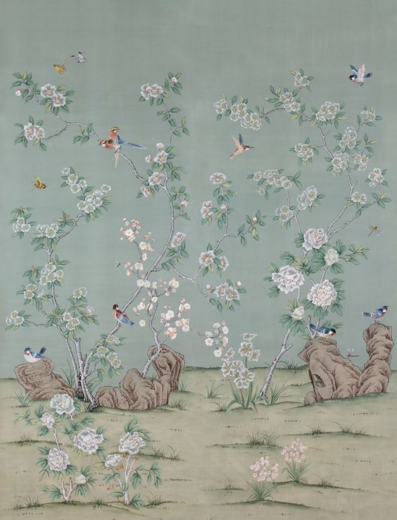 Chinoiserie wallpaper chinoiserie and wallpapers on pinterest for Chinoiserie design