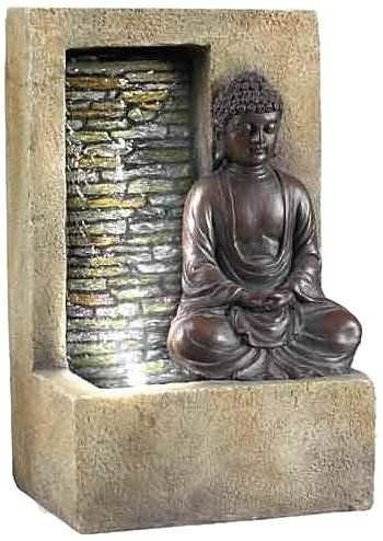 Buddha Tabletop Water Fountain With Waterfall Tabletop Fountain Buddha Home Decor Tabletop Water Fountain