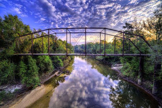 Alabama,Andalusia AL,Andalusia Alabama,Covington County Alabama,The Conecuh River,South Alabama,Southern Alabama,deeply Southern,old bridge,trestle bridge,rusty Bridge,Abandoned Bridge,Hearts Bridge,Heart Bridge,Harts bridge,Hart's Bridge,dirt roads,country,rural,rural Alabama,JC Findley