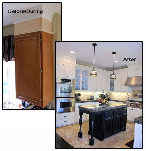 crown moulding for kitchen cabinets moldings cabinets and molding ideas on 14259