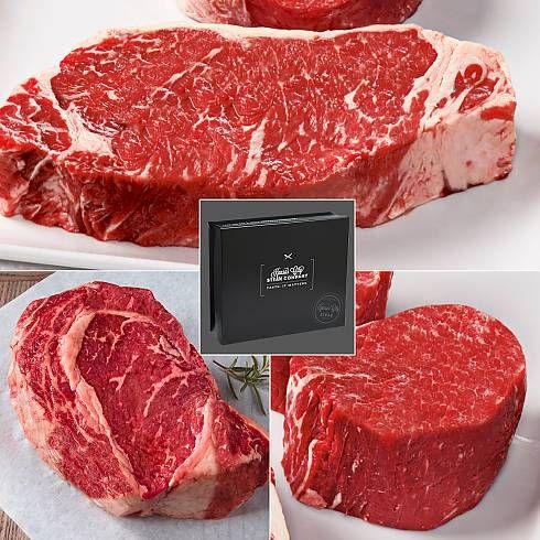 Gourmet Kansas City Steak Premium Beef Online Kansas City Steaks Usda Prime Steak Steak Gift