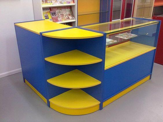 Mostradores para tiendas estanter as euroestan - Disenos de mostradores ...