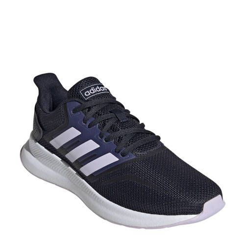 adidas performance Runfalcon hardloopschoenen donkerblauw ...