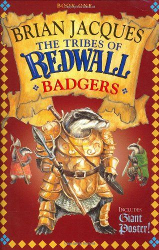 Tribes of Redwall: Badgers by Brian Jacques http://www.amazon.com/dp/0399238522/ref=cm_sw_r_pi_dp_ecB5wb09VN608: