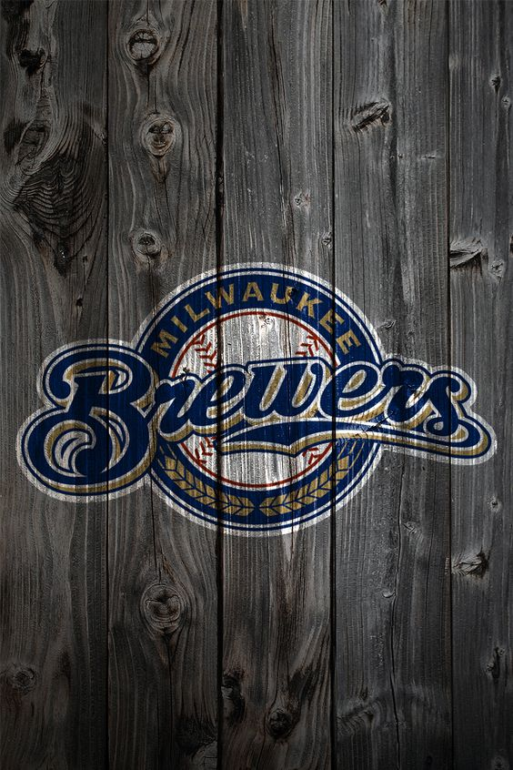 Milwaukee Brewers iPhone Wallpaper Background