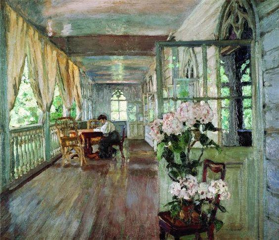Stanislav (Станислав Юлианович Жуковский) (Polish Russian artist, 1875–1944):