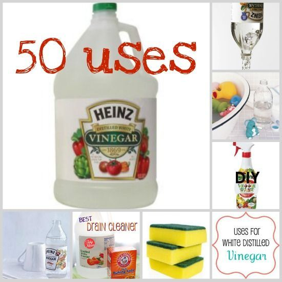 50! Uses for Vinegar!