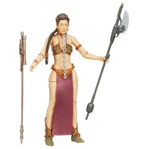 Amazon.com: Star Wars The Black Series Princess Leia (Slave Outfit) Figure 6 Inches: Toys & Games