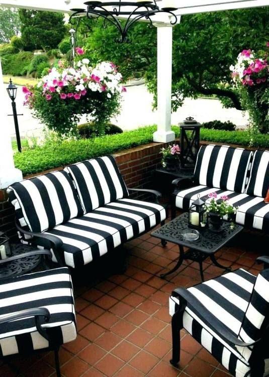 Patio Furniture Chair Seat Cushions White Patio Furniture White Outdoor Furniture Black Patio Furniture