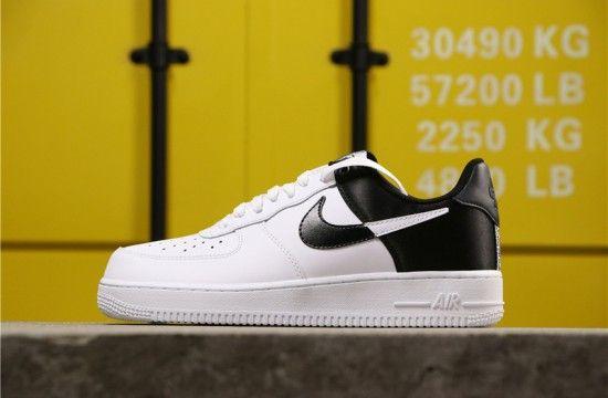 Nike Air Force 1 Low NBA 'Spurs' White Black Satin BQ4420 100