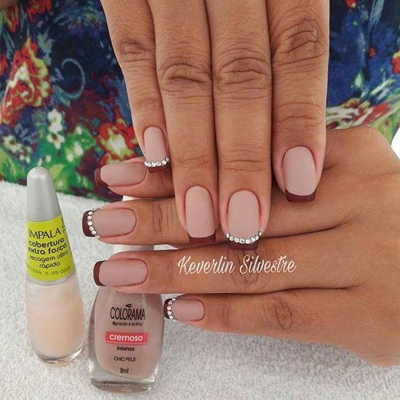 Pretty mix and match pink nail art designs