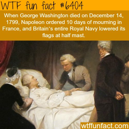 George Washington death - WTF fun facts   Visit http://gwyl.io/  for more diy/kids/pets videos