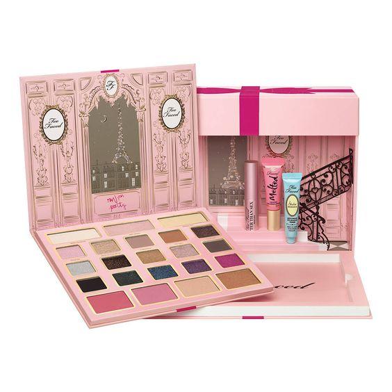 le grand palais de too faced coffret de maquillage de too faced sur sephora - Prix Maquillage Mariage Sephora