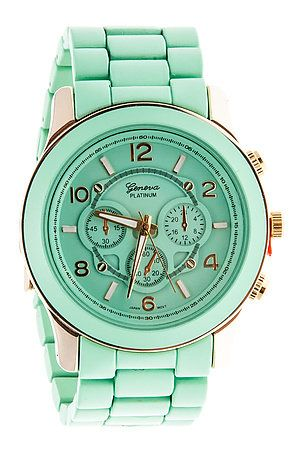MKL Accessories Watch Big Time in Mint Green