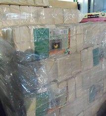 960 kg Holzbriketts eie Palette