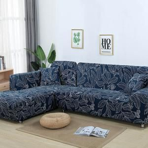 Magic Sofa Stretchable Cover L Shape Pattern Slipcovernation In 2020 Couch Covers Sofa Covers Corner Sectional Sofa