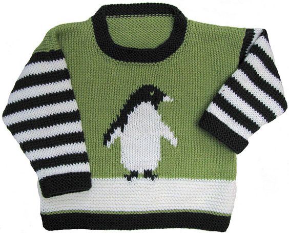 Ravelry: Penguin Pullover pattern by Gail Pfeifle:
